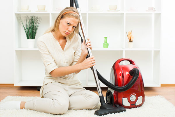 women with vaccum